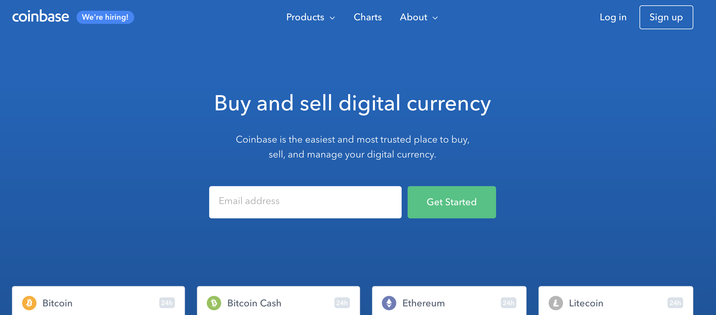 coinbase kryptomena