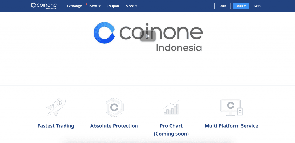 coinone review indonézia